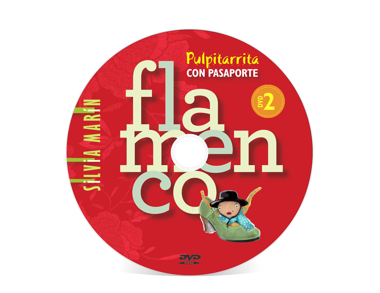 DVD 2 Pulpitarrita con pasaporte flamenco